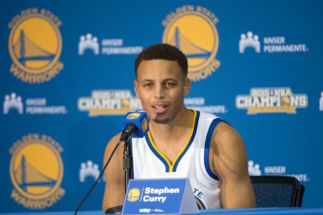 Golden State Warriors vs. Toronto Raptors - 10/5/15 NBA Preseason Pick, Odds, and Prediction