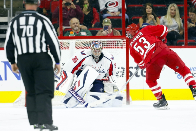Washington Capitals vs. Carolina Hurricanes - 10/17/15 NHL Pick, Odds, and Prediction