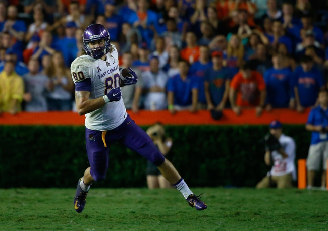 East Carolina Pirates vs. Tulsa Golden Hurricane - 10/17/15 College Football Pick, Odds, and Prediction