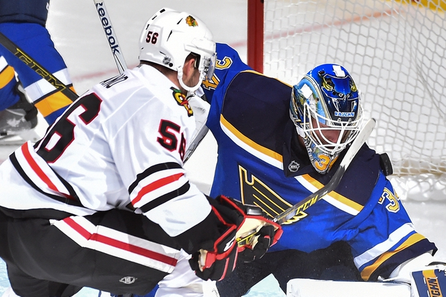 Chicago Blackhawks vs. St. Louis Blues - 11/4/15 NHL Pick, Odds, and Prediction