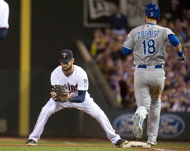 Twins vs. Royals - 10/3/15 MLB Pick, Odds, and Prediction