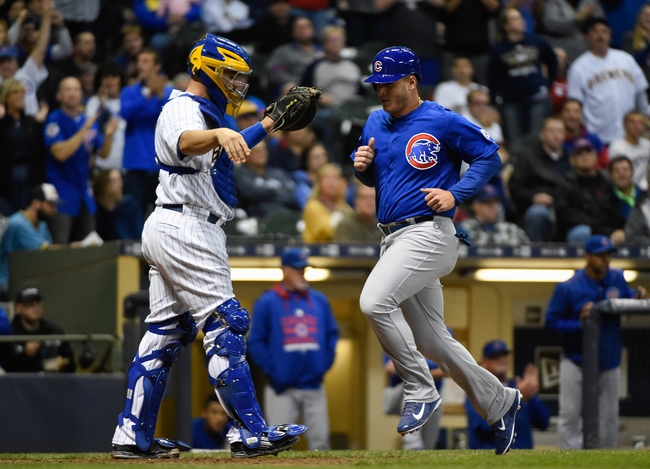 Brewers vs. Cubs - 10/3/15 MLB Pick, Odds, and Prediction