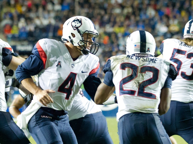Central Florida Knights vs. Connecticut Huskies - 10/10/15 College Football Pick, Odds, and Prediction