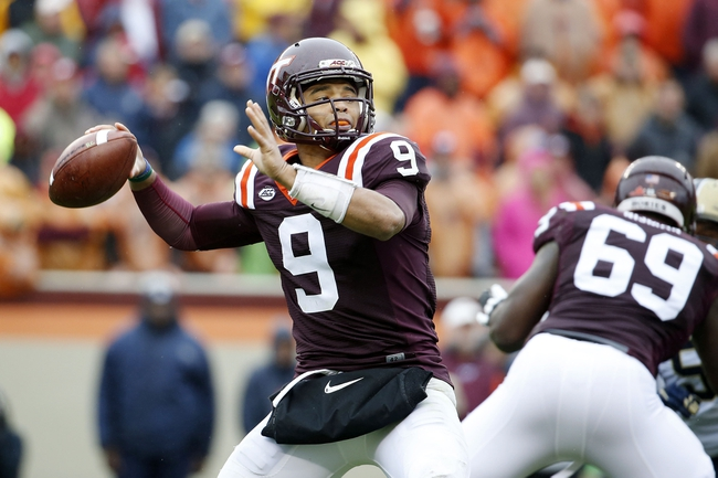 NC State at Virginia Tech - 10/9/15 College Football Pick, Odds, and Prediction