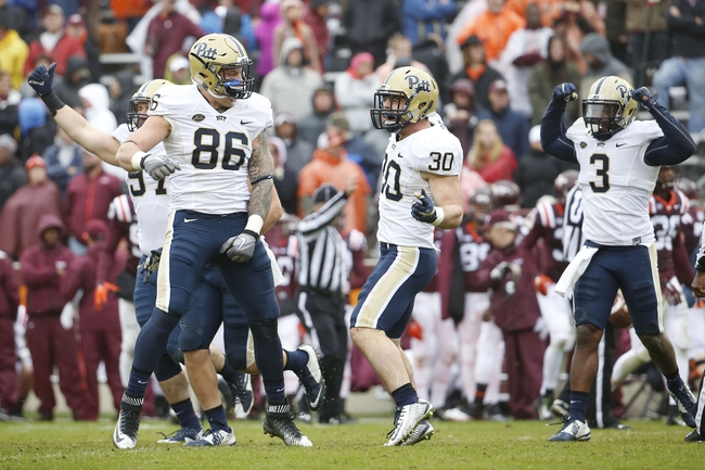 Pittsburgh Panthers vs. Virginia Cavaliers - 10/10/15 College Football Pick, Odds, and Prediction