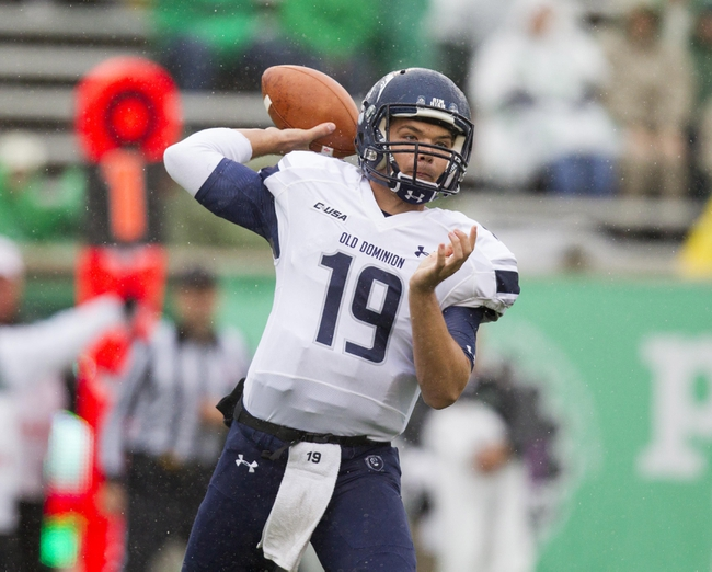 Old Dominion Monarchs vs. Charlotte 49ers - 10/17/15 College Football Pick, Odds, and Prediction