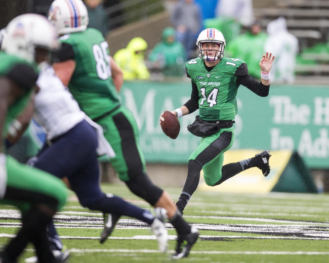 Marshall Thundering Herd vs. Southern Miss Golden Eagles - 10/9/15 College Football Pick, Odds, and Prediction