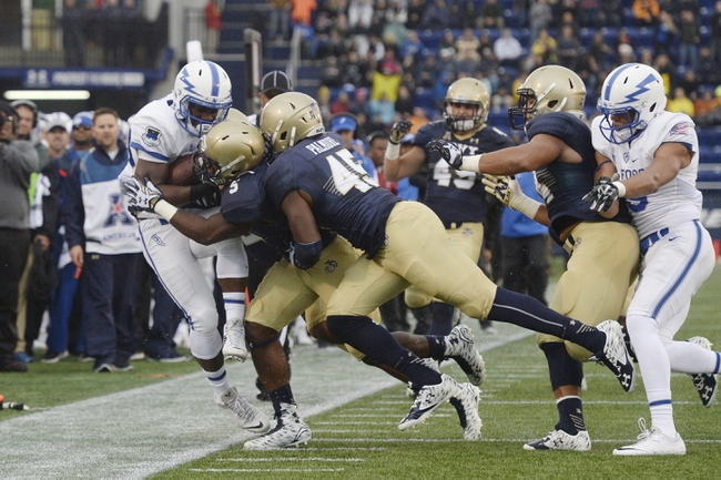 Air Force vs. Navy - 10/1/16 College Football Pick, Odds, and Prediction