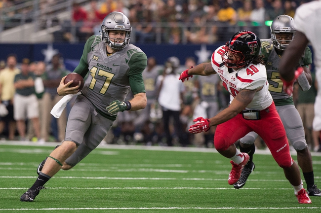 Baylor Bears vs. Kansas Jayhawks - 10/10/15 College Football Pick, Odds, and Prediction