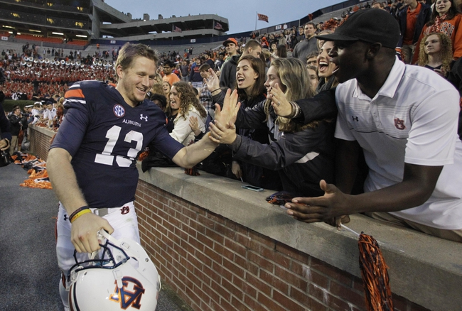 Ole Miss at Auburn - 10/31/15 College Football Pick, Odds, and Prediction