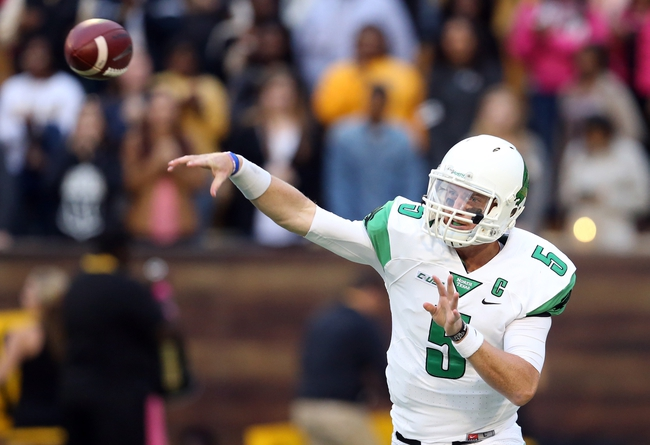 North Texas Mean Green vs. Western Kentucky Hilltoppers - 10/15/15 College Football Pick, Odds, and Prediction