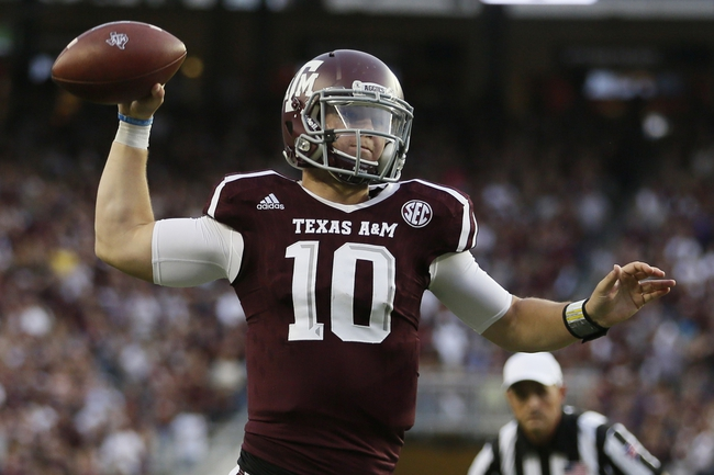 Alabama at Texas A&M - 10/17/15 College Football Pick, Odds, and Prediction