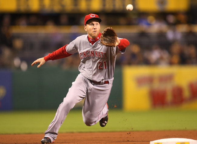 Pittsburgh Pirates vs. Cincinnati Reds - 10/4/15 MLB Pick, Odds, and Prediction