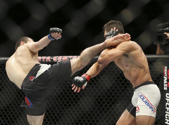 Brendan O'Reilly vs. Alan Jouban UFC Pick, Preview, Odds, Prediction - 3/19/16