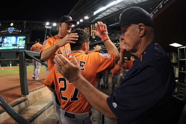 Arizona Diamondbacks vs. Houston Astros - 10/4/15 MLB Pick, Odds, and Prediction