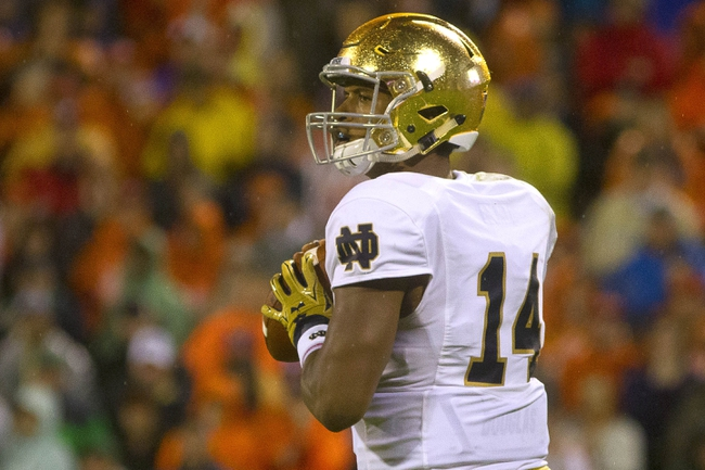 Navy at Notre Dame - 10/10/15 College Football Pick, Odds, and Prediction