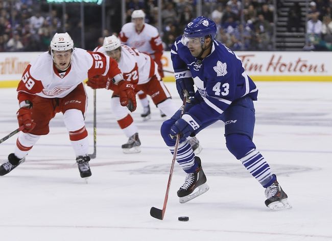 Maple Leafs at Red Wings - 10/9/15 NHL Pick, Odds, and Prediction