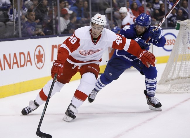 Detroit Red Wings vs. Toronto Maple Leafs - 10/9/15 NHL Pick, Odds, and Prediction