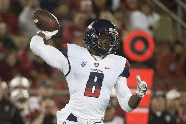 Oregon State at Arizona - 10/10/15 College Football Pick, Odds, and Prediction