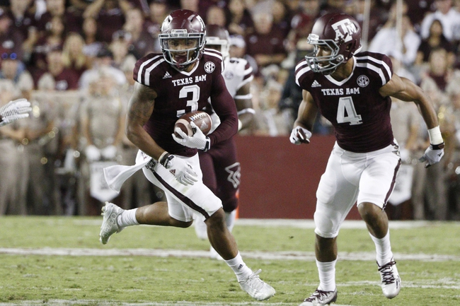 Texas A&M vs. Alabama - 10/17/15 College Football Pick, Odds, and Prediction