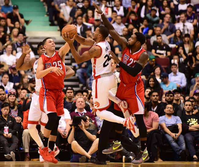 Clippers vs. Raptors - 11/22/15 NBA Pick, Odds, and Prediction