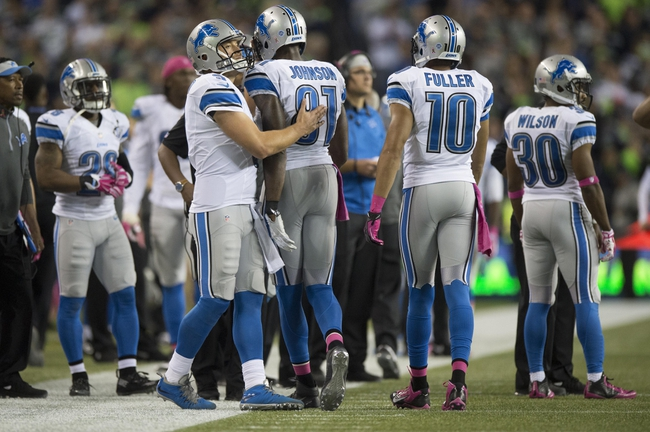 Arizona Cardinals at Detroit Lions- 10/11/15 NFL Pick, Odds, and Prediction