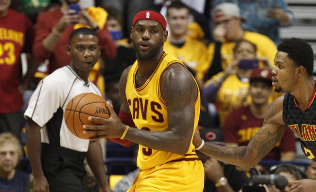 Cavaliers vs. Hawks - 11/21/15 NBA Pick, Odds, and Prediction