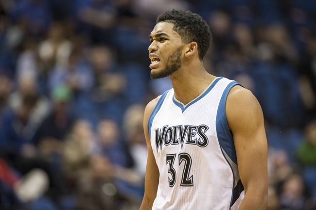 Thunder at Timberwolves - 1/12/16 NBA Pick, Odds, and Prediction