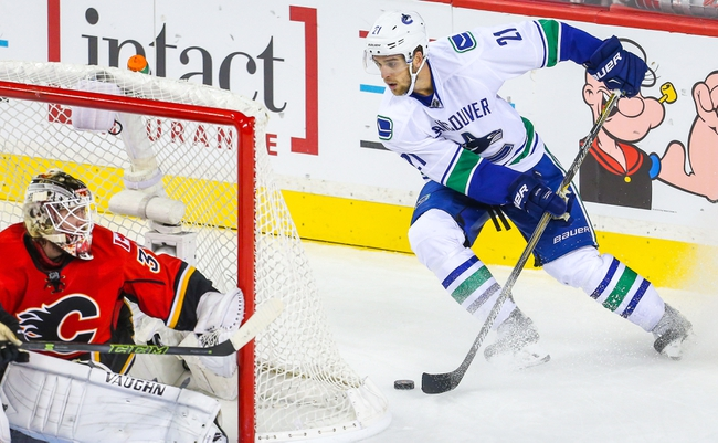 Canucks vs. Flames - 10/10/15 NHL Pick, Odds, and Prediction