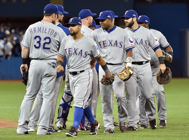 Rangers at Blue Jays - 10/9/15 ALDS Game Two Pick, Odds, and Prediction