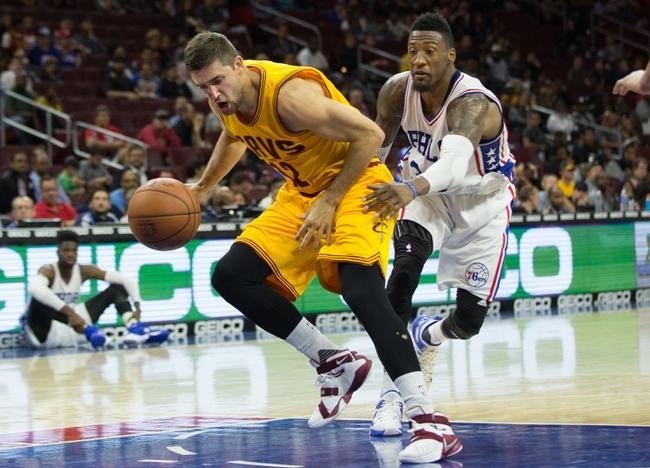 Philadelphia 76ers vs. Cleveland Cavaliers - 11/2/15 NBA Pick, Odds, and Prediction