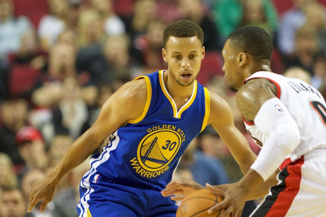 Trail Blazers vs. Warriors - 1/8/16 NBA Pick, Odds, and Prediction