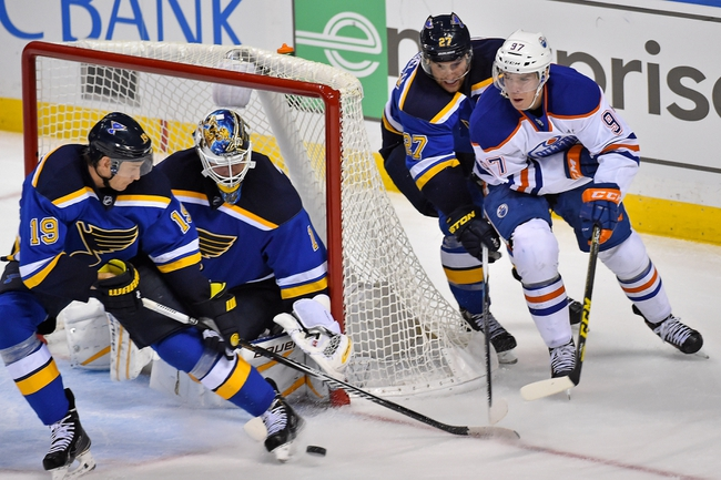 Edmonton Oilers vs. St. Louis Blues - 10/15/15 NHL Pick, Odds, and Prediction