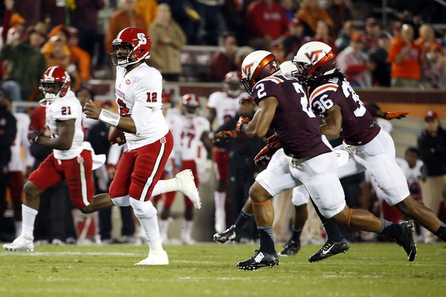 Wake Forest Demon Deacons vs. North Carolina State Wolfpack - 10/24/15 College Football Pick, Odds, and Prediction