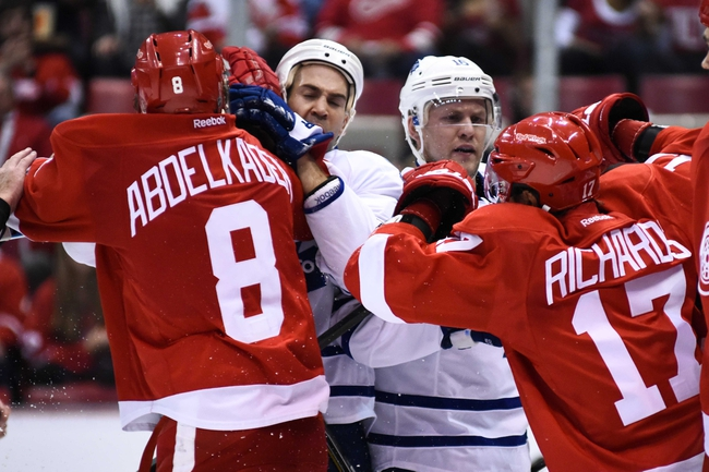 Toronto Maple Leafs vs. Detroit Red Wings - 11/6/15 NHL Pick, Odds, and Prediction