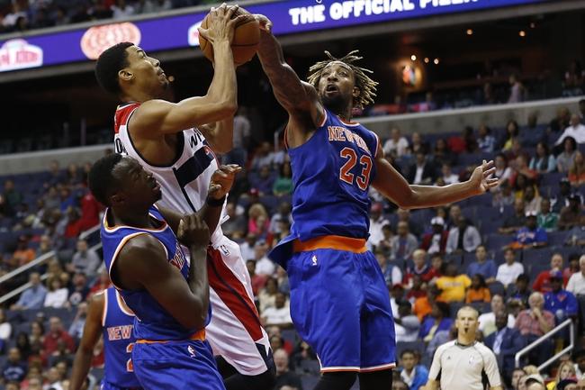 Washington Wizards vs. New York Knicks - 10/31/15 NBA Pick, Odds, and Prediction