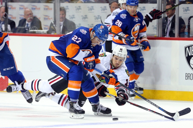 Chicago Blackhawks vs. New York Islanders - 10/10/15 NHL Pick, Odds, and Prediction