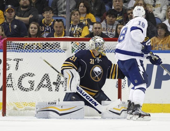Tampa Bay Lightning vs. Buffalo Sabres - 10/17/15 NHL Pick, Odds, and Prediction