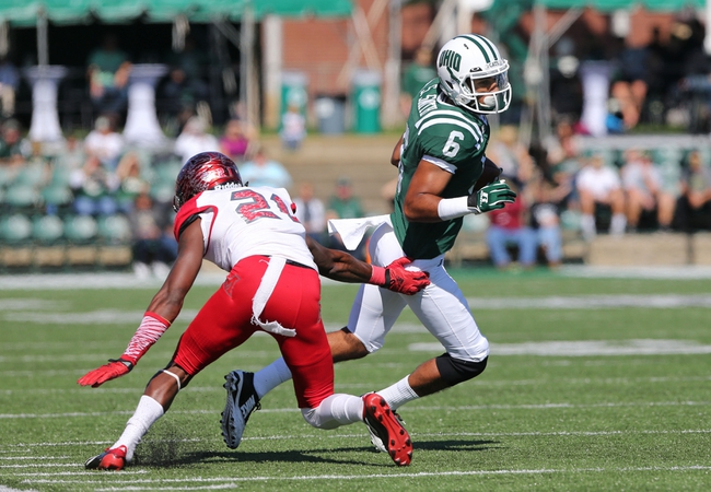 Ohio Bobcats vs. Eastern Michigan Eagles - 10/15/16 College Football Pick, Odds, and Prediction