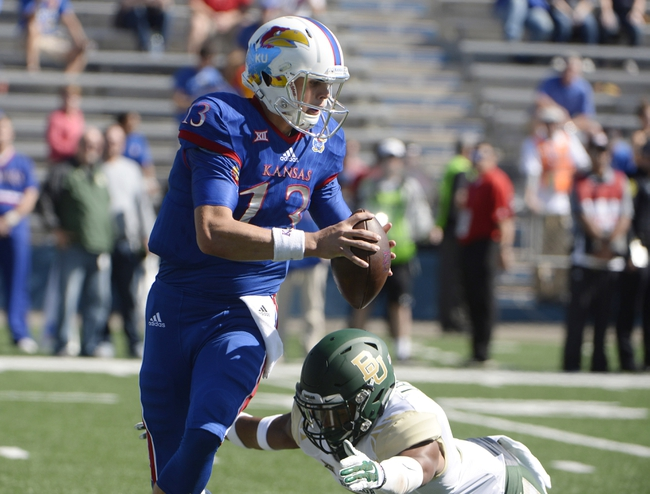 Texas Tech Red Raiders vs. Kansas Jayhawks  - 10/17/15 College Football Pick, Odds, and Prediction