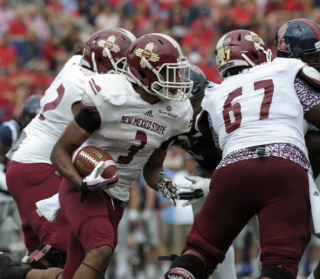 Idaho vs. New Mexico State - 10/15/16 College Football Pick, Odds, and Prediction