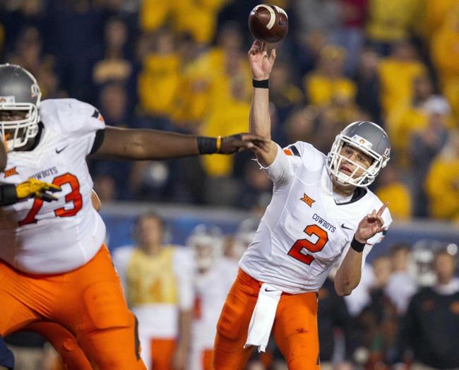 Oklahoma State vs. Kansas - 10/24/15 College Football Pick, Odds, and Prediction