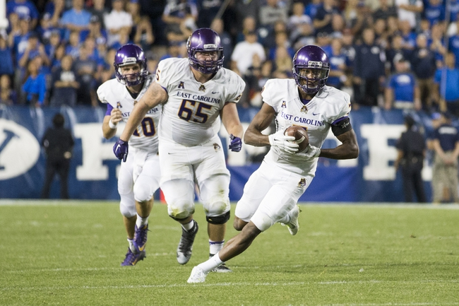 Connecticut  vs. East Carolina - 10/30/15 College Football Pick, Odds, and Prediction