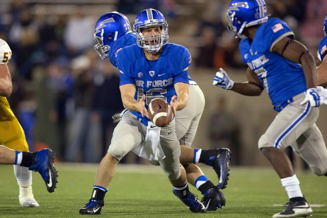 Air Force Falcons vs. Fresno State Bulldogs - 10/24/15 College Football Pick, Odds, and Prediction