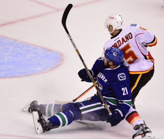 Vancouver Canucks vs. Calgary Flames - 2/6/16 NHL Pick, Odds, and Prediction