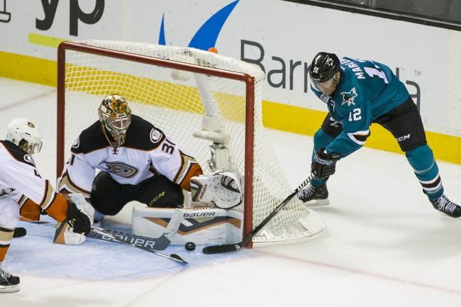 San Jose Sharks vs. Anaheim Ducks - 11/7/15 NHL Pick, Odds, and Prediction