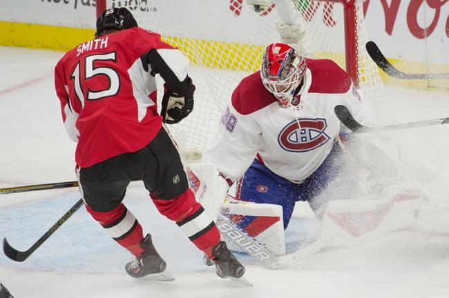 Montreal Canadiens vs. Ottawa Senators - 11/3/15 NHL Pick, Odds, and Prediction