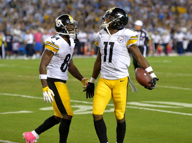 Arizona Cardinals at Pittsburgh Steelers- 10/18/15 NFL Pick, Odds, and Prediction