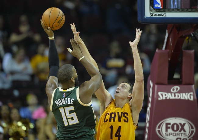 Milwaukee Bucks vs. Cleveland Cavaliers - 11/14/15 NBA Pick, Odds, and Prediction