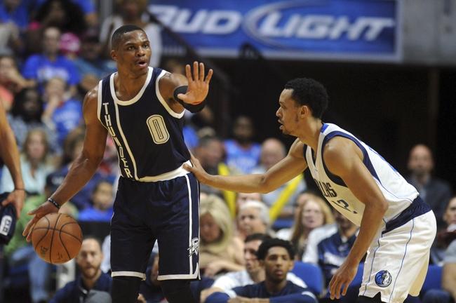Oklahoma City Thunder vs. Dallas Mavericks - 11/22/15 NBA Pick, Odds, and Prediction